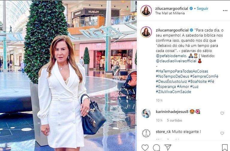 Socialite está passando férias nos Estados Unidos (Foto: Divulgação/Instagram)