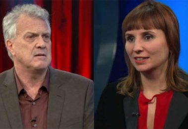 Pedro Bial e Petra Costa - Foto: Reprodução