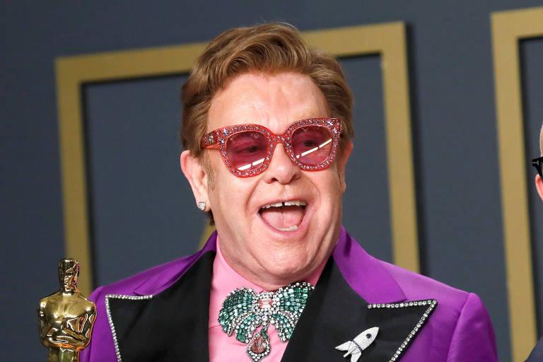 Elton John abandona palco durante show por motivos de saúde (Foto: Reprodução)