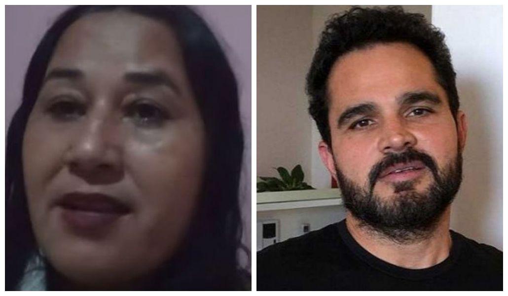 Cleo Loyola expõe crueldade de Luciano Camargo
