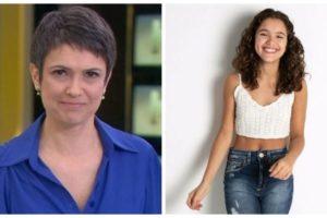 Filha de Sandra Annenberg se revela na internet e mãe comenta (Foto: Reprodução)
