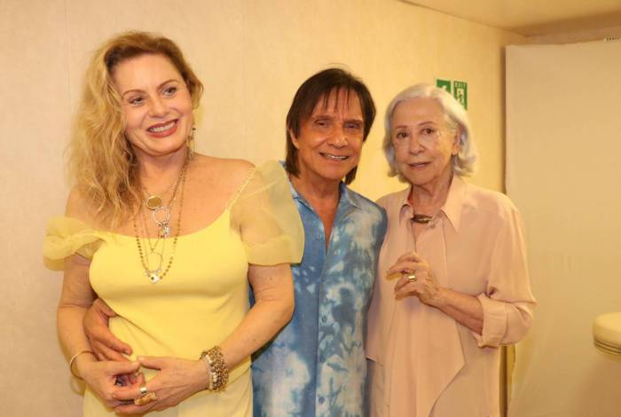 Vera Fisher, Fernanda Montenegro e Roberto Carlos - Agnews