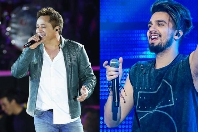 Leonardo e Luan Santana têm suposta briga com Paula Fernandes. Foto: Reprodução