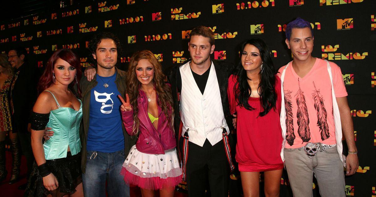 Grupo RBD, da novela mexicana Rebelde (Foto: Reprodução)