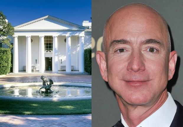 Jeff Bezos, dono da Amazon, compra mansão mais cara da Califórnia por 165 milhões de dólares (Foto: Reprodução)