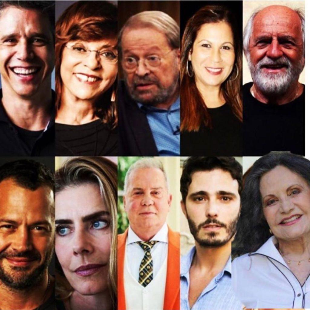 A foto que consta, por enquanto, no perfil de Regina Duarte gerou polêmica entre famosos  - Foto: Reprodução