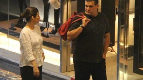 Renata Vasconcellos e seu marido, o diretor Miguel Athayde (foto: AgNews)