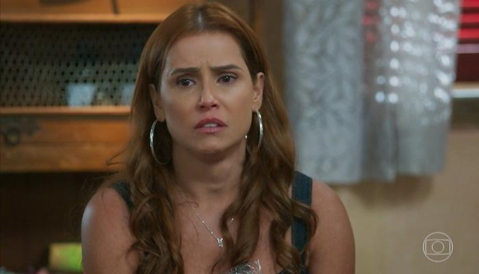 Alexia ficará sedenta por linguiça em Salve-Se Quem Puder (foto: reprodução/TV Globo)