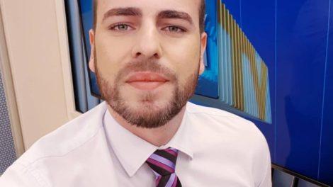 Douglas Belan foi contratado pela Globo de Cuiabá (from: reprodução/RPC)