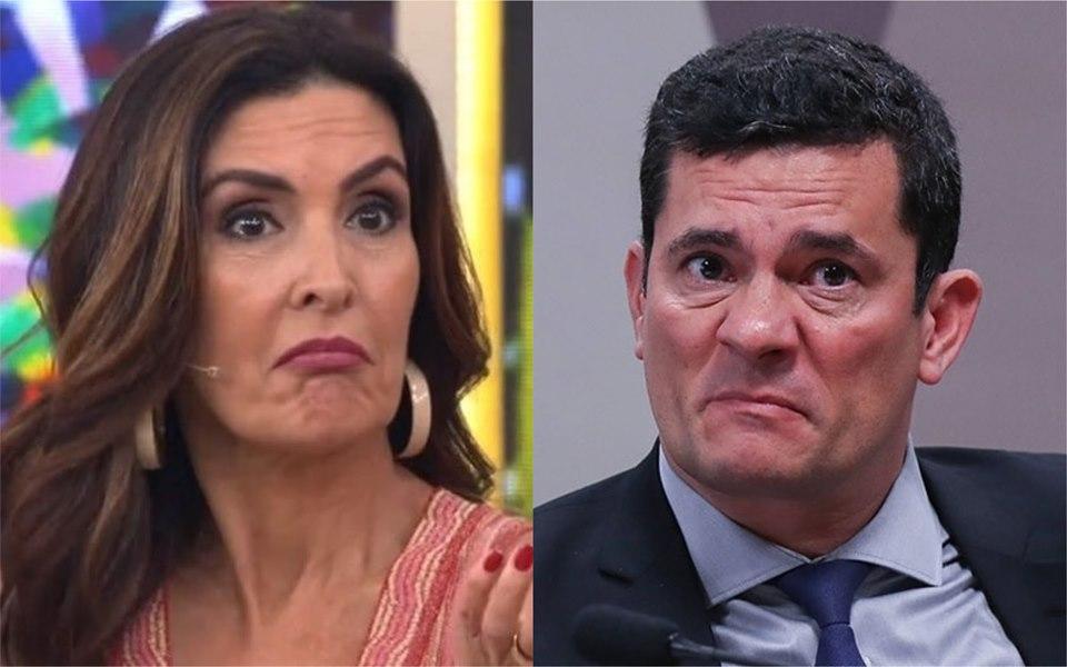 Fátima Bernardes e Moro (Foto: Reprodução / Montagem)