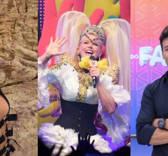 Ana Hickmann, Xuxa e Rodrigo Faro (Foto: Reprodução/Instagram/Divulgação/Record/Montagem TV Foco)