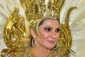 Antonia Fontenelle ficou revoltada após resultado dos desfiles das escolas de samba de São Paulo (Foto: Reprodução)