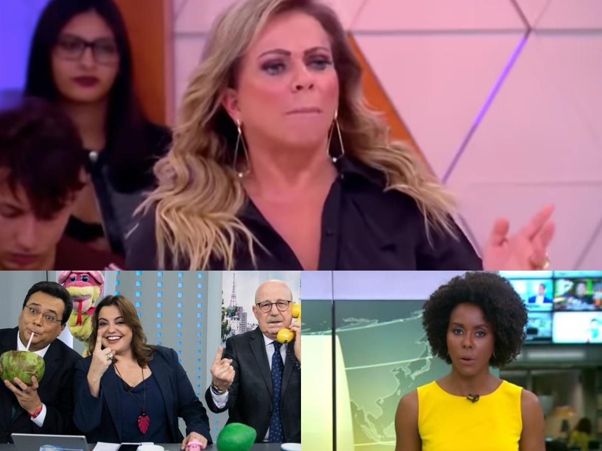 A audiência desta sexta-feira, 14, de fevereiro, fez com Casos de Família, por Christina Rocha, Maju Coutinho da Globo se destacassem (Foto: Montagem TV Foco)