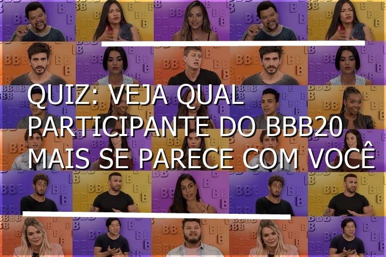Participantes do BBB20 (Foto: reprodução)