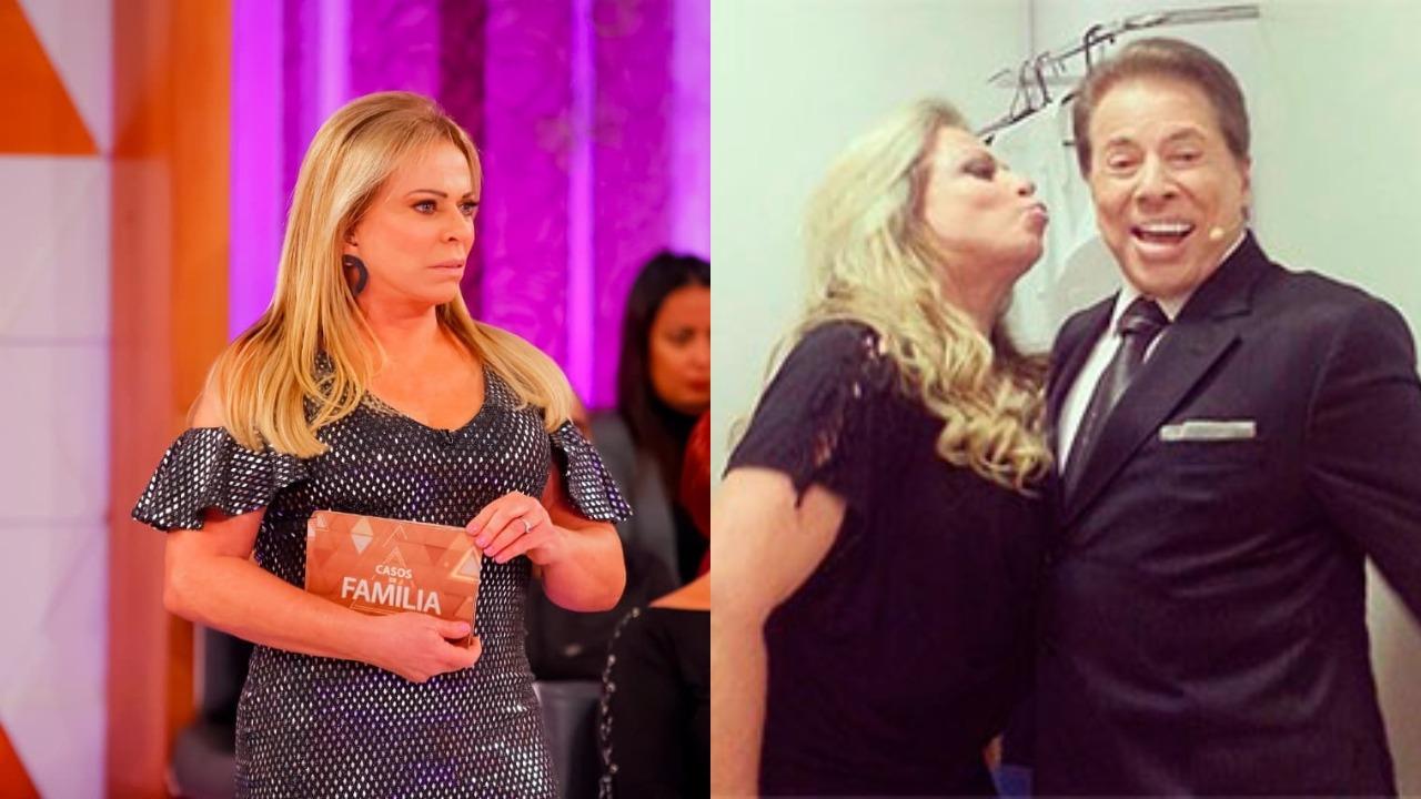 Christina Rocha do Casos de Família e Silvio Santos (Foto: Reprodução/Instagram/Montagem TV Foco)