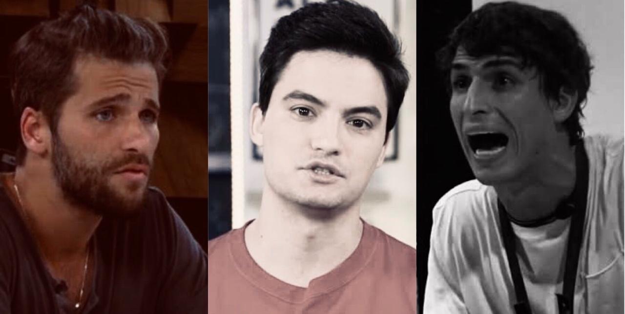 Bruno Gagliasso, Felipe Netto, Felipe Prior