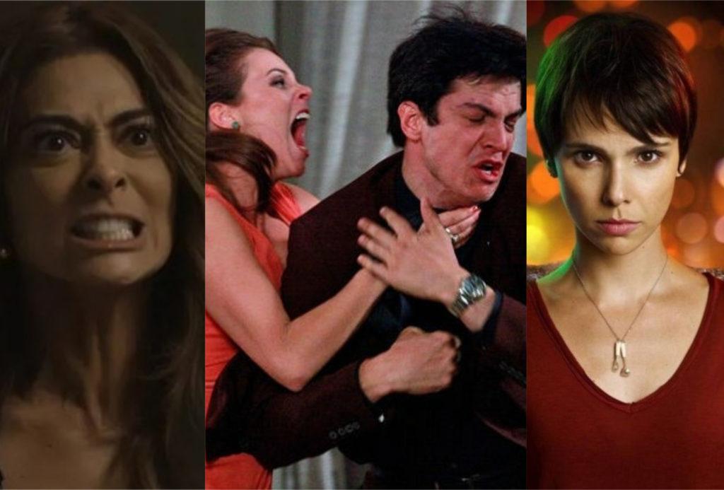 Cenas marcantes das principais novelas da Globo (Foto: montagem TV Foco)