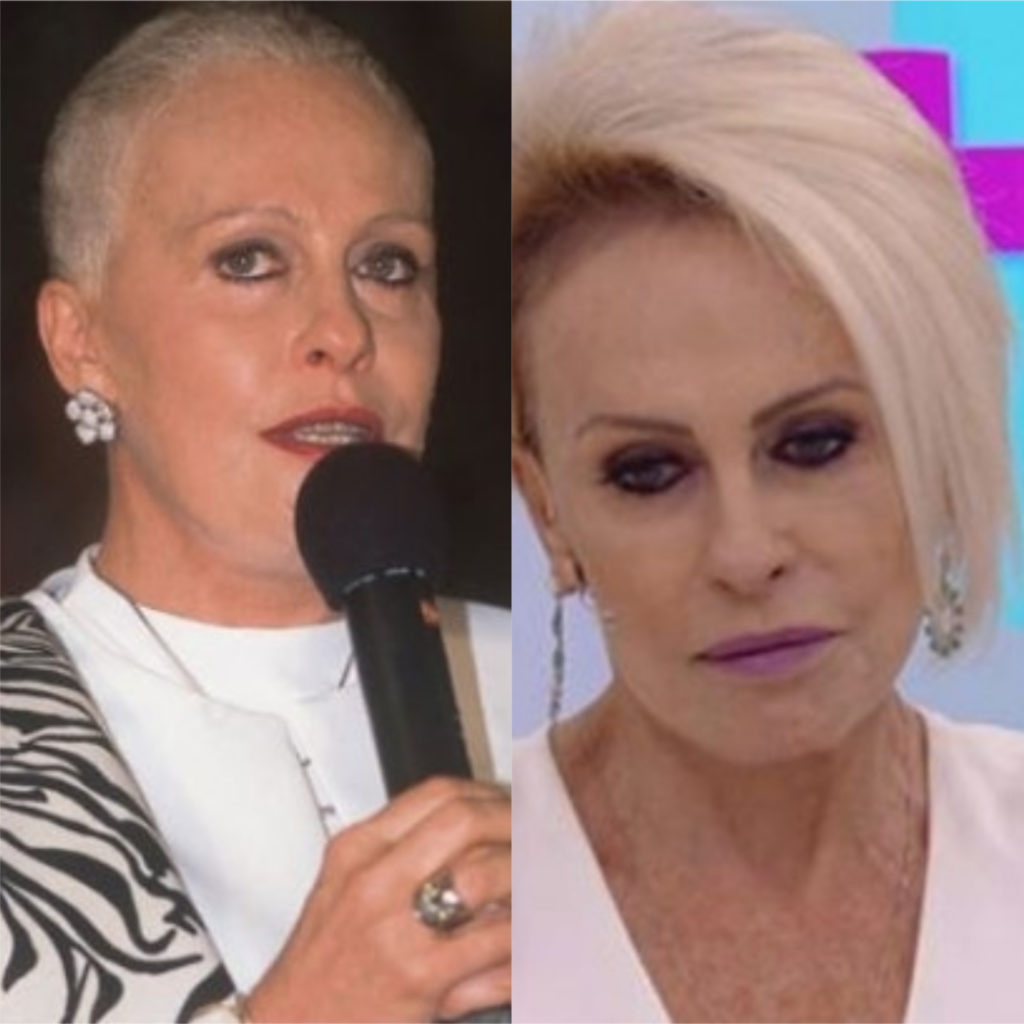 Ana Maria Braga enfrenta câncer pela quarta vez. Confira pelo que a apresentadora já passou (Foto: montagem TV Foco)