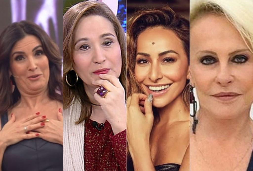 Qual apresentadora brasileira é mais parecida com você? (Foto: montagem TV Foco)