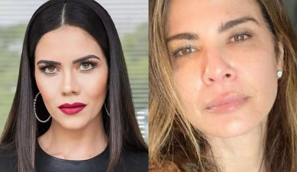 Daniela Albuquerque e Luciana Gimenez não são mais amigas (Foto: Montagem)