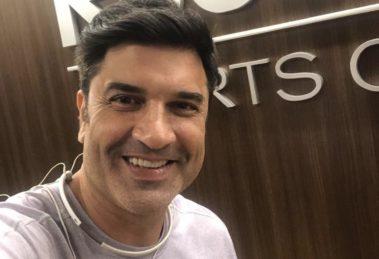 O apresentador Edu Guedes tem derretido as redes sociais (foto: reprodução/Instagram)