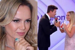 Eliana e Rodrigo Faro (Foto: AgNews/Reprodução/SBT/Montagem TV Foco)