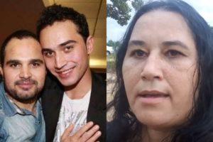 Cleo Loyola é mãe de Wesley Camargo, filho que ela teve com Luciano no passado (Foto reprodução)