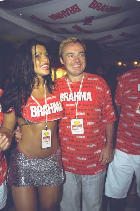 Fabiana Andrade e Gugu Liberato (Foto: Ana Branco)