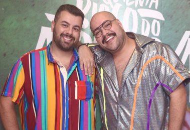 Fernando Poli e Tiago Abravanel estão morando juntos (Foto: Reprodução)