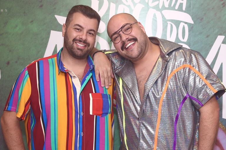 Fernando Poli e Tiago Abravanel, do SBT, estão morando juntos (Foto: Reprodução)