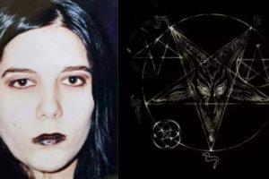 Beth Eckert, ex-bruxa que fez revelações de Satanás na música evangélica (Foto: Reprodução/Montagem TV Foco)
