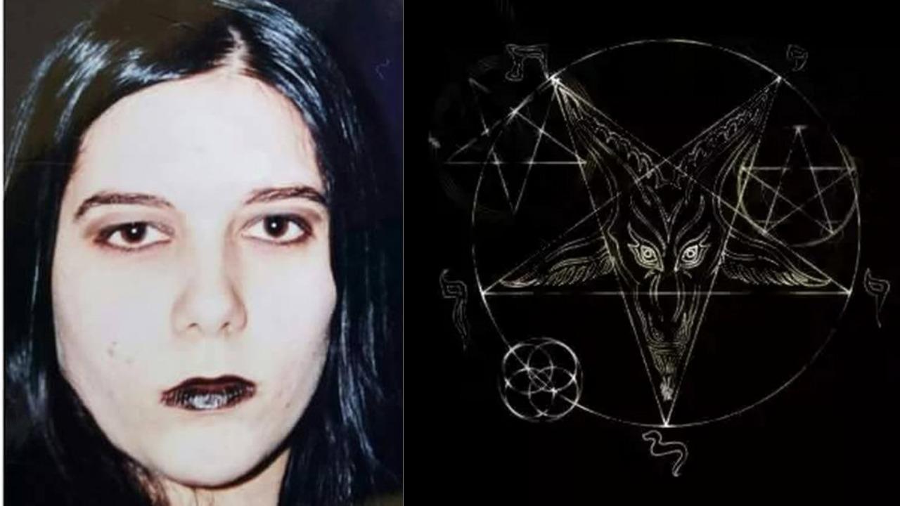 Beth Eckert, ex-bruxa que fez revelações do plano de Satanás em músicas gospel (Foto: Reprodução/Montagem TV Foco)