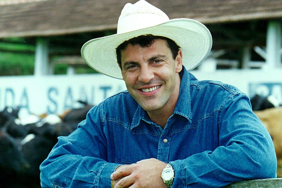 Gerson Brenner quando ele era galã da Globo (Foto: Reprodução)
