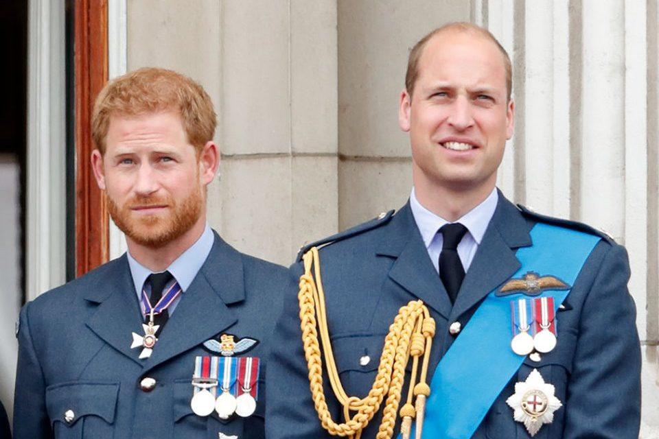 Príncipe Harry e Príncipe William tiveram briga feia (Foto: Getty Imagens)