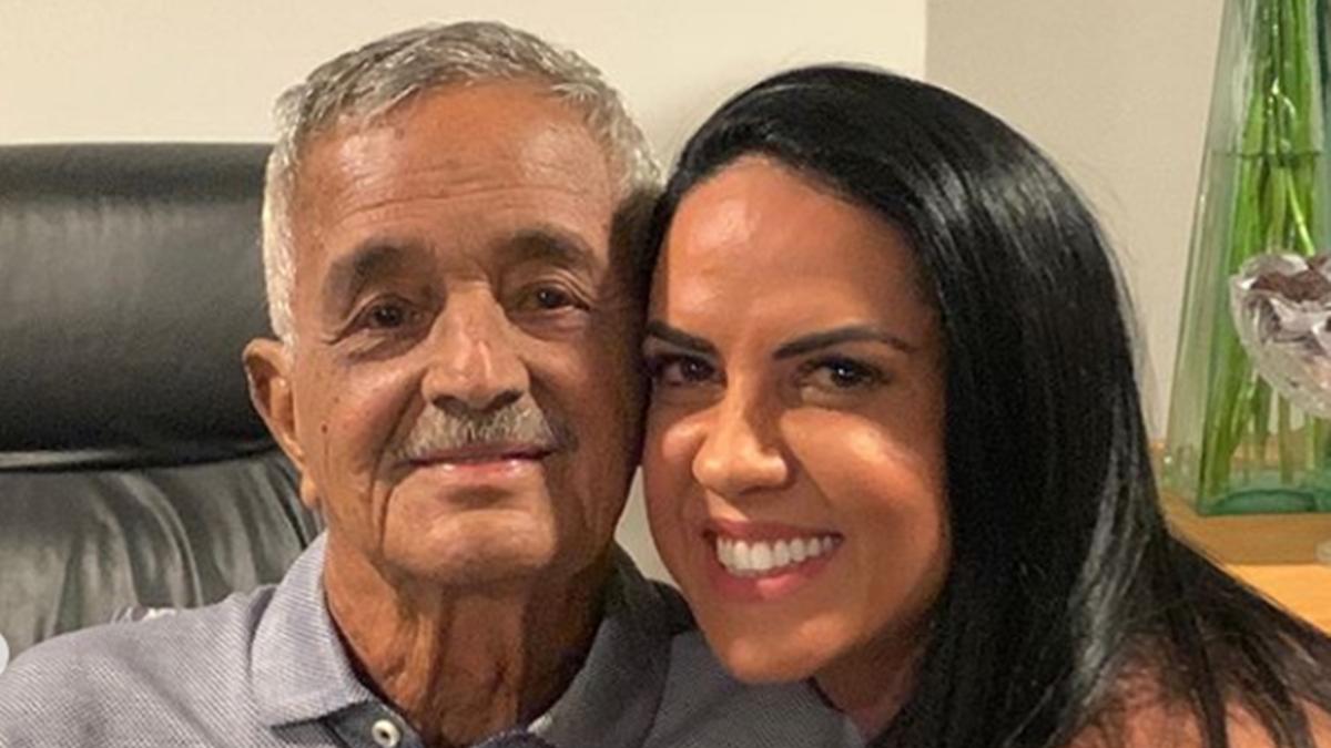 Graciele Lacerda fala sobre saúde do sogro (Foto: Reprodução)
