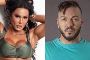 Gracyanne Barbosa e Belo pretendem ser papais em 2020 (Montagem: TV Foco)