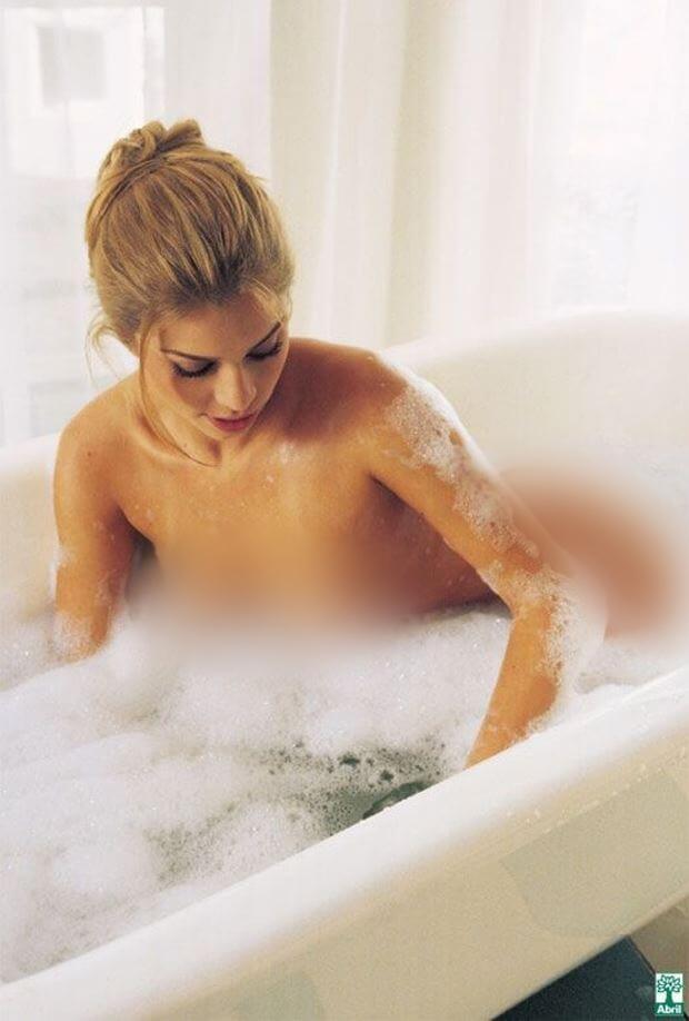 A famosa atriz ganhou muito destaque após posar pelada em 2005 (Foto: Divulgação/Playboy)