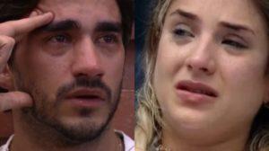 Após a briga para lá de polêmica entre o primeiro casal do Big Brother Brasil, Guilherme ouve conversa de Gabi e vai atrás de participante do BBB20, da Globo para resolveu confusão (Foto: reprodução/Montagem TV Foco)