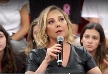 Heloísa Périssé expõe câncer no Altas Horas