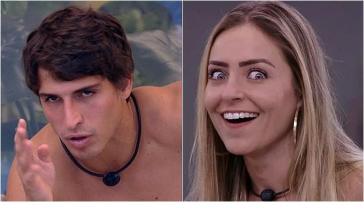 Felipe é comparado com Paula, que venceu o último BBB. (Foto: Montagem/Reprodução)