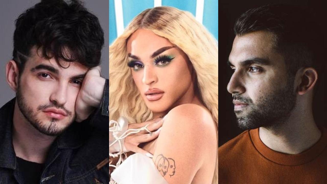 Jão, Pabllo Vittar e Silva são nomes confirmados no Lollapalooza 2020 (Foto: Divulgação/Montagem TV Foco)