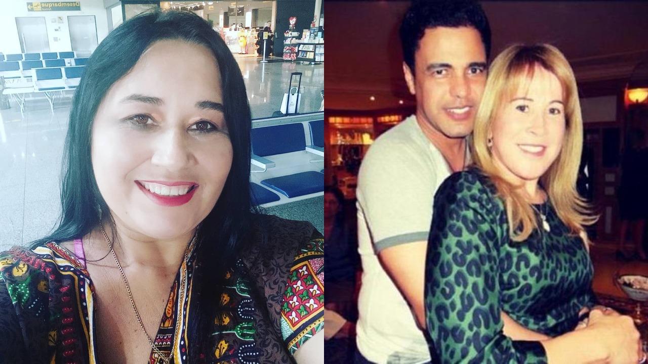 Cleo Loyola detonou casamento de Zezé Di Camargo e Zilu (Foto: Reprodução/Montagem TV Foco)