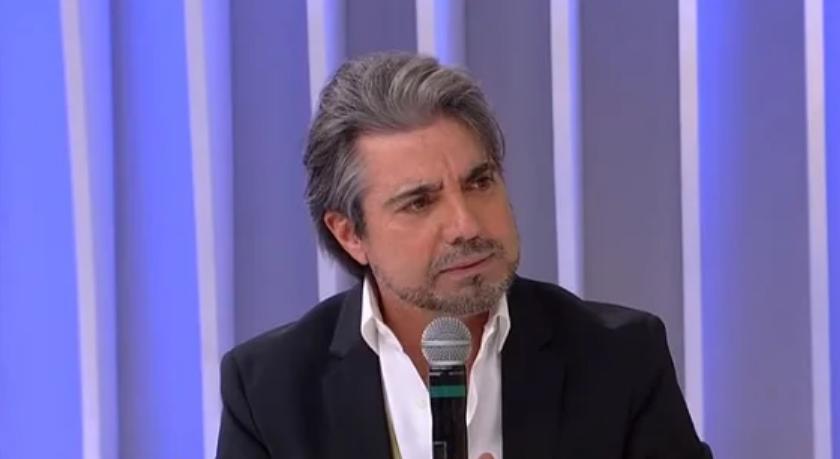 João Kleber trabalhou na Globo antes de ir par Rede!TV (Foto: reprodução)