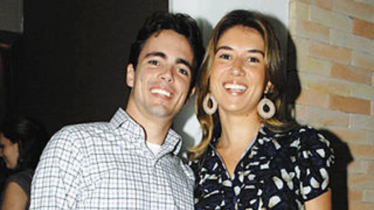 Leonardo Cid Ferreira e Rebeca Abravanel (Foto: Reprodução/Caras)