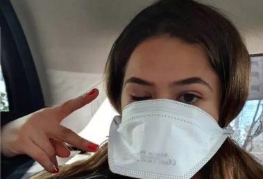 Maisa acalmou os fãs sobre coronavírus (Foto: Reprodução)