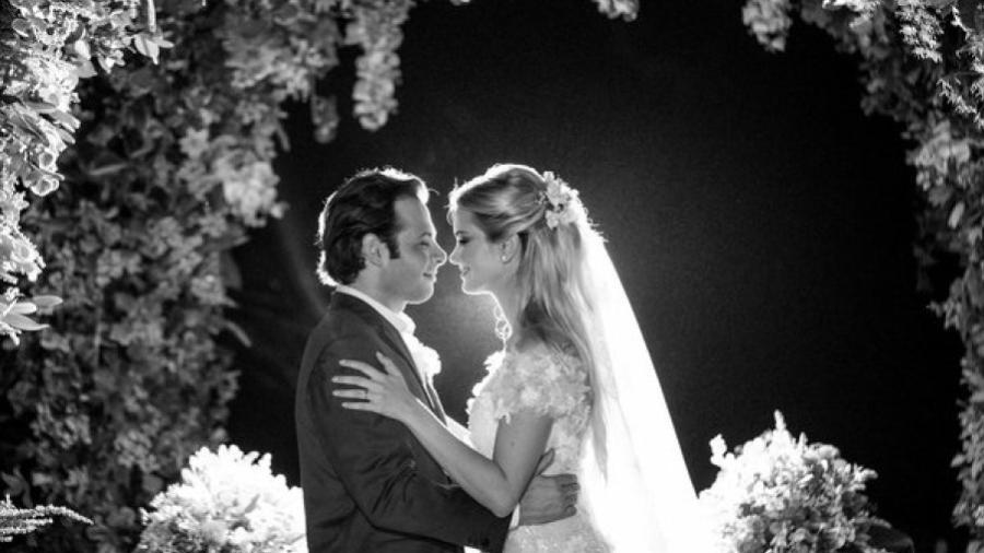 Marcela do BBB20 durante casamento com empresário em 2016 (Foto: