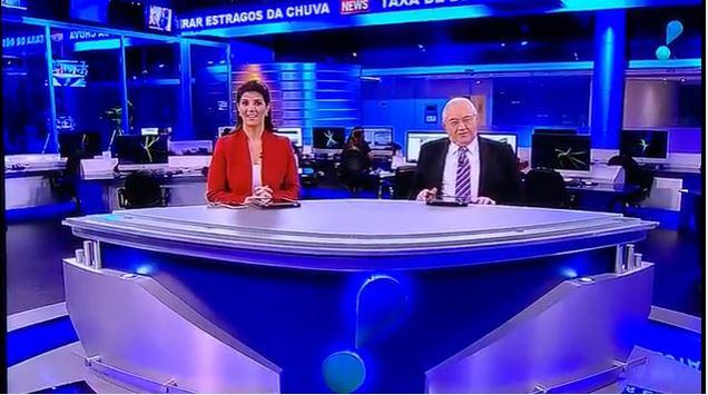 Mariana Godoy e Boris Casoy (Foto: Reprodução/RedeTV!)