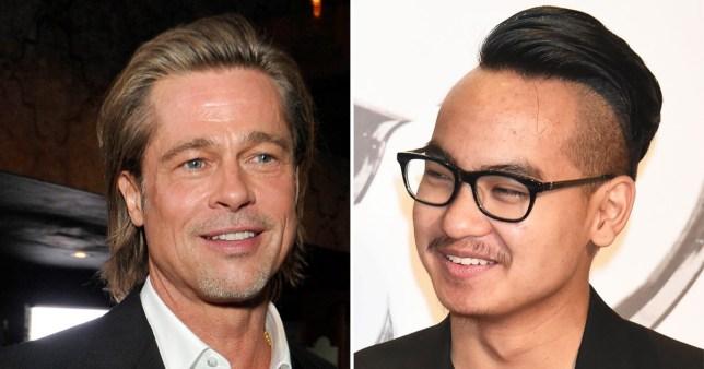 Brad Pitt cancela participação no Bafta para tentar uma reaproximação com o filho mais velho, Maddox (Foto: Reprodução)