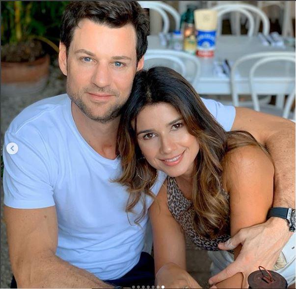 Paula Fernandes e o namorado (Foto: Reprodução)