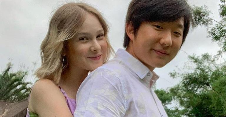 Pyong Lee e a sua esposa (Foto: Reprodução)